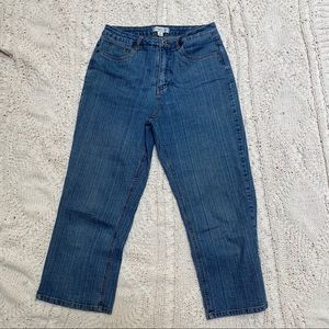 🔵4/$10🔵 Coldwater Creek cropped pants